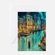 Venice Painting Greeting Cards