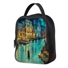 Venice Painting Neoprene Lunch Bag