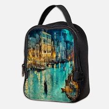 Venice Painting Neoprene Lunch Bag