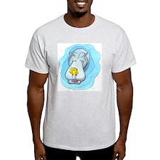 Bird on Hippo T-Shirt