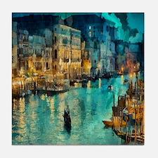 Venice Painting Tile Coaster