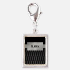 Faux Metal Nameplate Personalized Charms