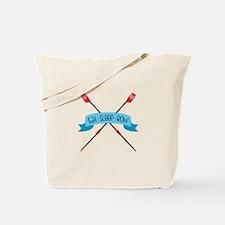 Eat Sleep Row Tote Bag