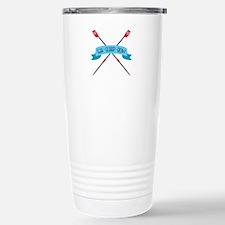 Eat Sleep Row Travel Mug