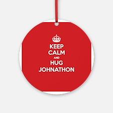 Hug Johnathon Ornament (Round)