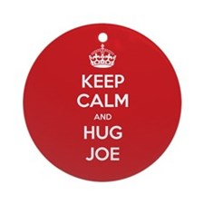 Hug Joe Ornament (Round)