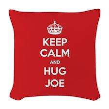 Hug Joe Woven Throw Pillow