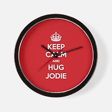 Hug Jodie Wall Clock