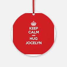 Hug Jocelyn Ornament (Round)