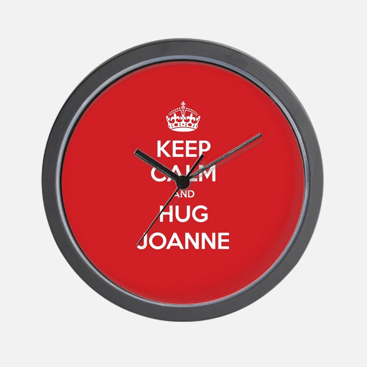 Hug Joanne Wall Clock