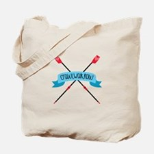 Crawl Walk Row Tote Bag