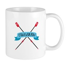 Crawl Walk Row Mugs
