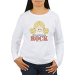 Girls with Curls Rock Women's Long Sleeve T-Shirt