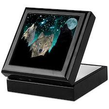 Wolves Twilight Keepsake Box