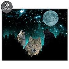 Wolves Twilight Puzzle