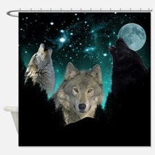 Wolves Twilight Shower Curtain