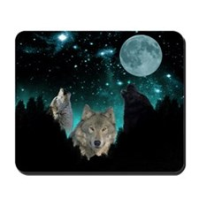 Wolves Twilight Mousepad