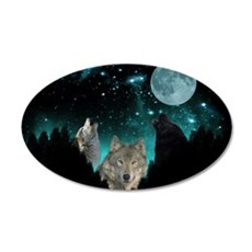 Wolves Twilight Wall Decal