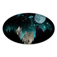 Wolves Twilight Decal