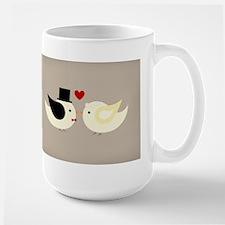 Married Canary Birds Mugs
