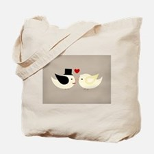 Married Canary Birds Tote Bag