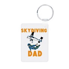Skydiving Dad Keychains