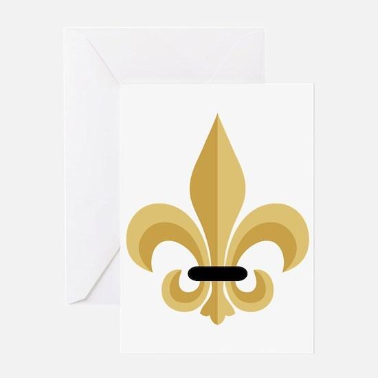 Fleur De Lis Greeting Cards