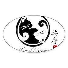 yin-yang-cat Decal