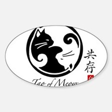 yin-yang-cat Decal