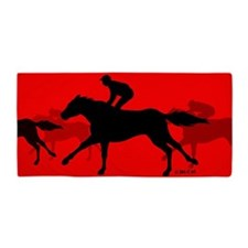 Horse Riding Beach Towel