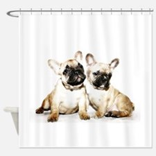 French Bulldogs Shower Curtain