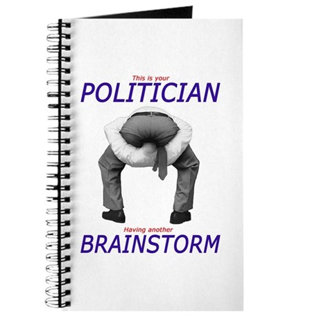 Politician's Brainstorm Journal