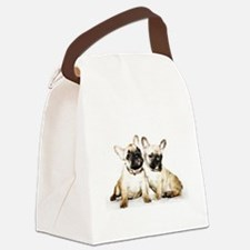 French Bulldogs Canvas Lunch Bag