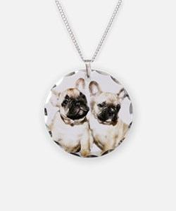 French Bulldogs Necklace