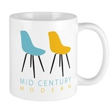 Mid Century Modern Chairs Mugs