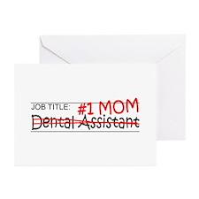Job Mom Dental Asst Greeting Cards (Pk of 20)