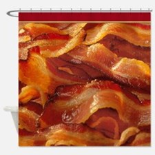 Sizzling Bacon Shower Curtain Shower Curtain