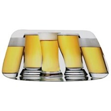 Beer Glasses Bath Mat Bathmat