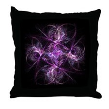 Dancing Glass Throw Pillow