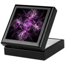 Dancing Glass Keepsake Box