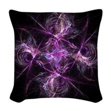 Dancing Glass Woven Throw Pillow