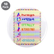"""meaning of autism 2.png 3.5"""" Button (10 pack)"""