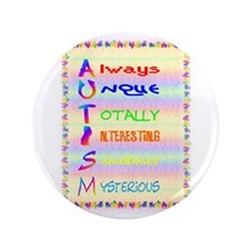 """meaning of autism 2.png 3.5"""" Button"""