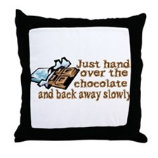 Gimme Chocolate Throw Pillow