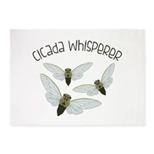 Cicada Whisperer 5'x7'Area Rug