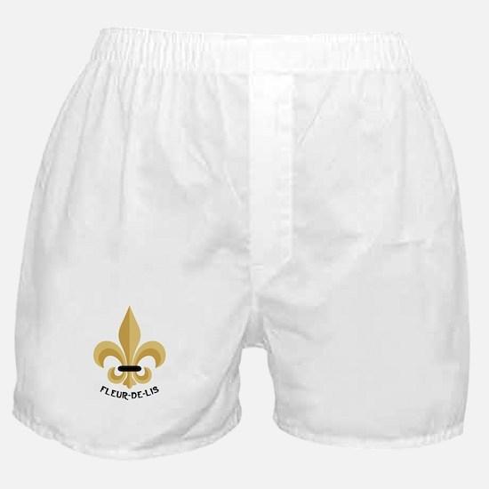 New Orleans Fleur De Lis Boxer Shorts