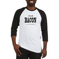Team Bacon Lifetime Member Baseball Jersey