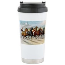 Dash For Pole Travel Coffee Mug