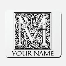 Custom Decorative Letter M Mousepad