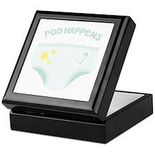 POO HAPPENS Keepsake Box